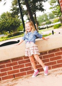94ca03271da girls pink converse floral skirt chambray denim shirt - Thoughtfully ...