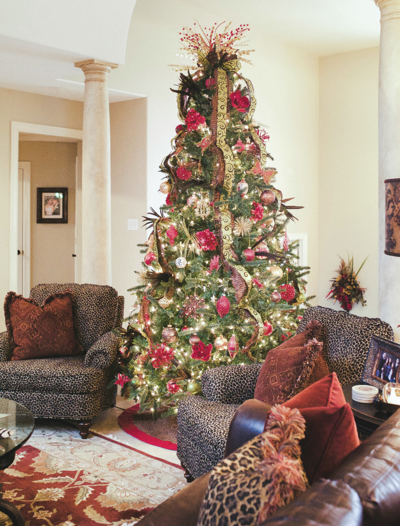 a home tour christmas part 1 thoughtfully styled tree skirt ballard designs on sale lenora paisley napkins williams sonoma available in stores olive napkin rings williams sonoma available in