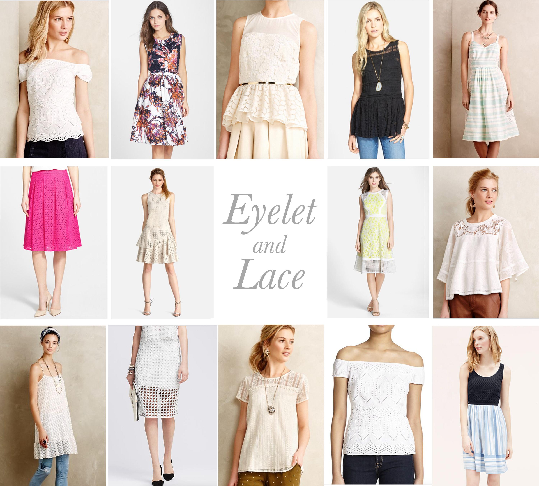 EYELET & LACE