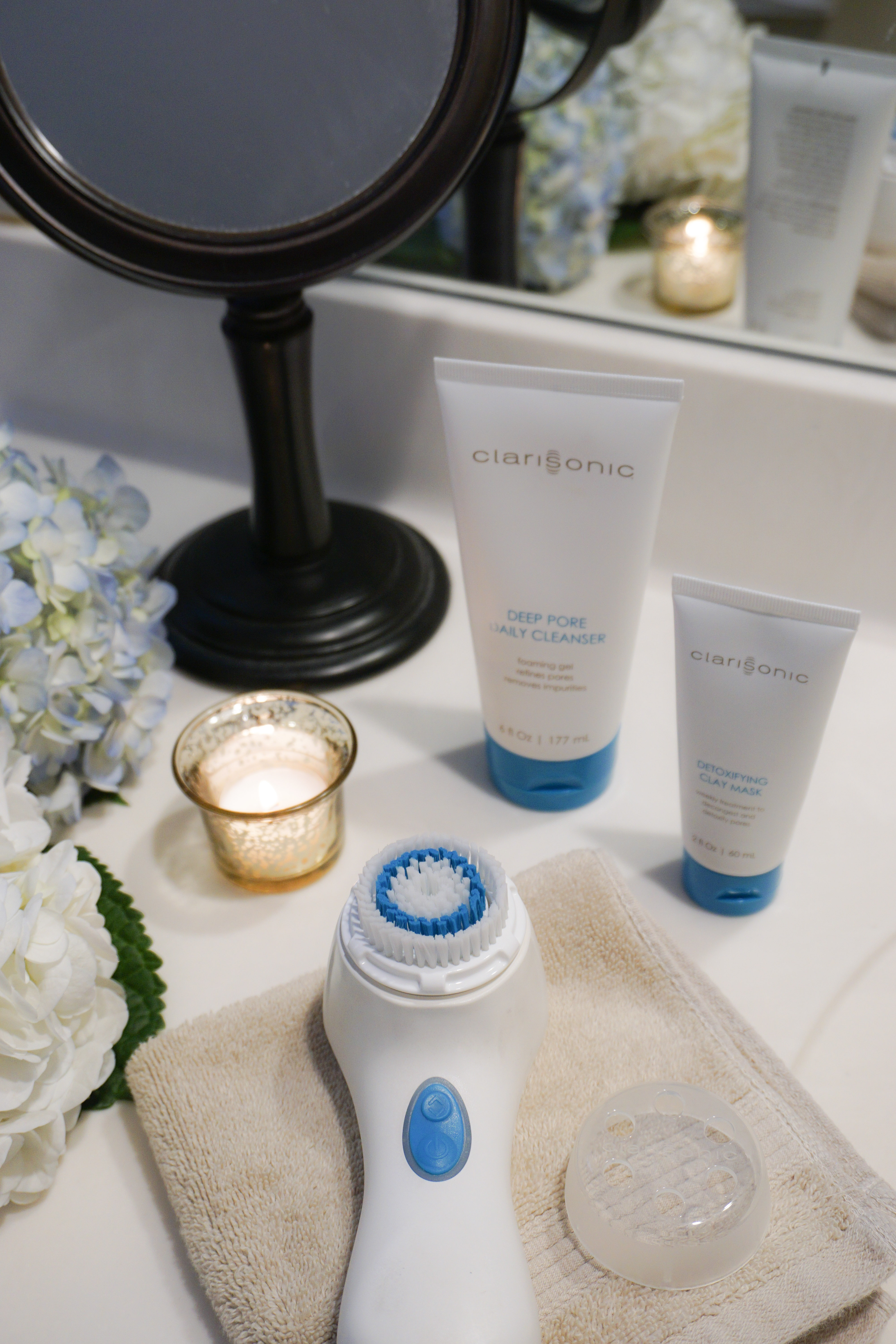 SKIN CARE WITH CLARISONIC