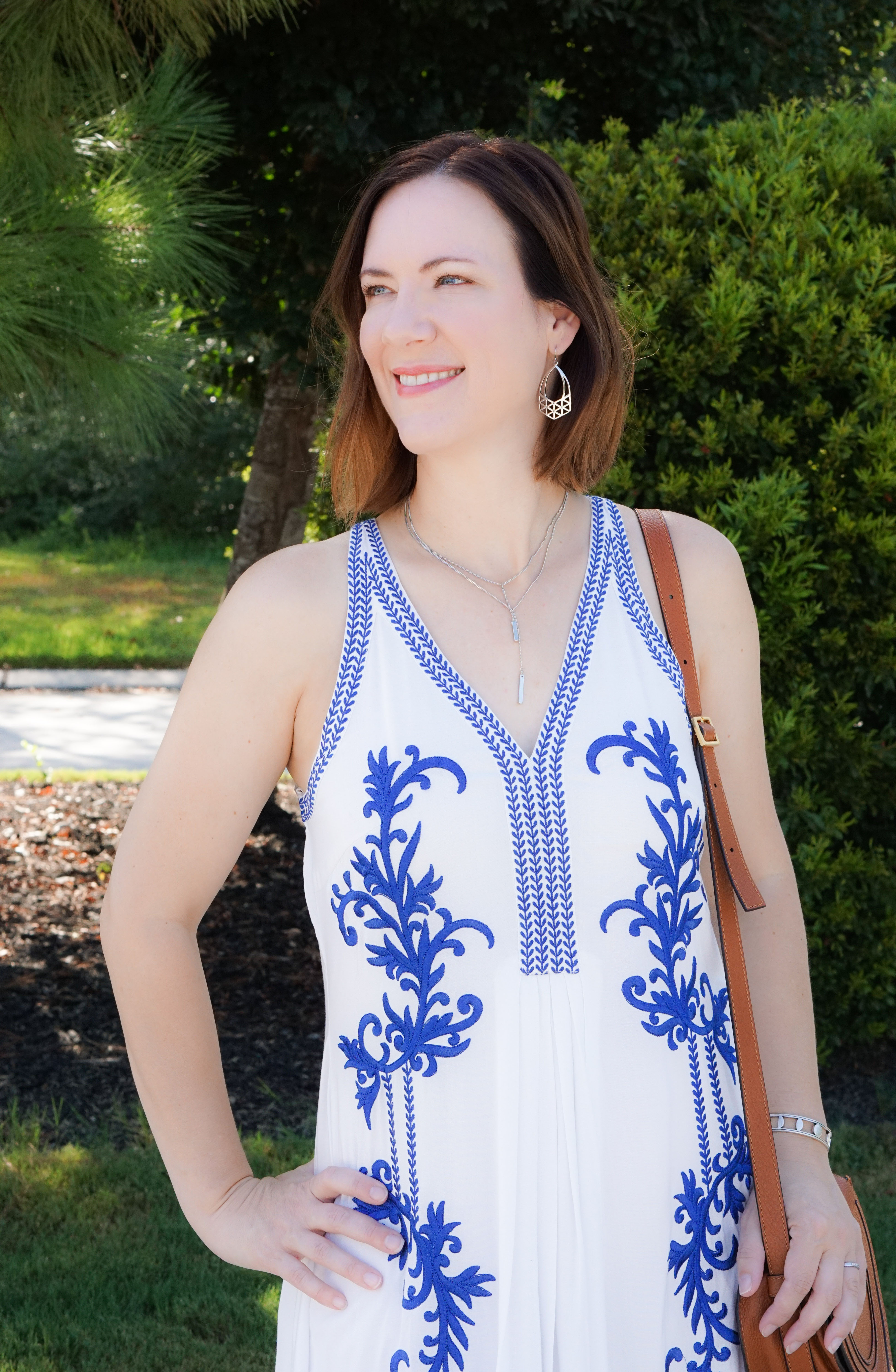 EMBROIDERED MAXI + ROCKSBOX