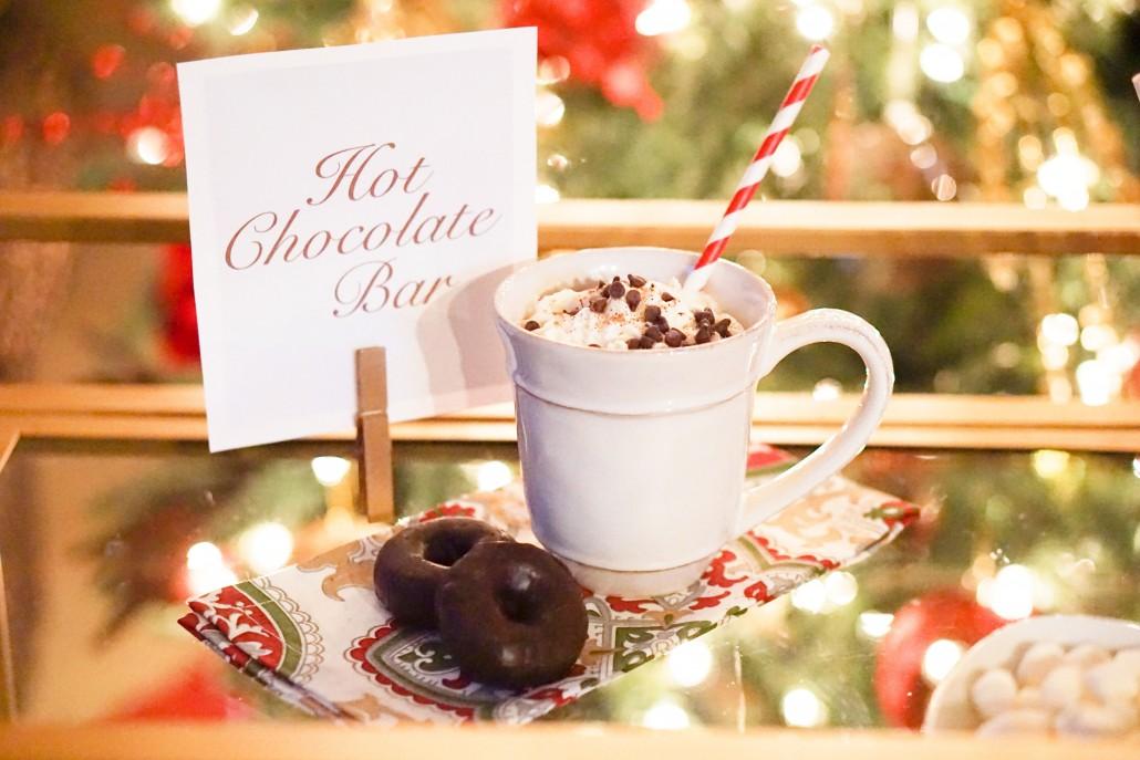 Coffee Creamer In Hot Chocolate