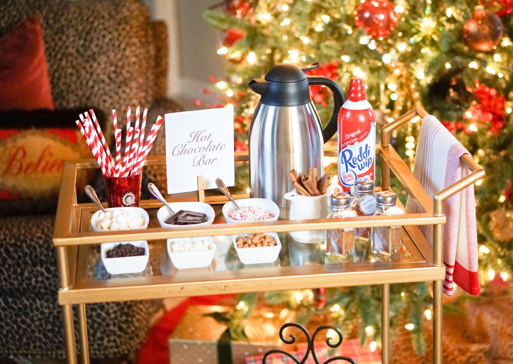 Hot Chocolate Bar Thoughtfully Styled