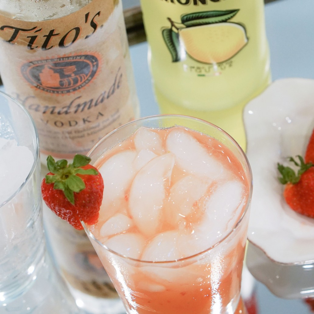 POTEET PUNCH WITH TITO'S VODKA