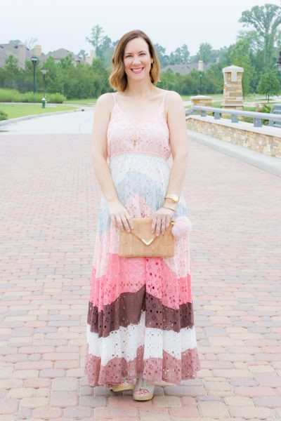 summer style feminine summer pastels anthropologie blogger