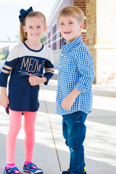 SCHOOL CLOTHES BACK TO SCHOOL OUTFITS BOYS GIRLS KINDERGARTEN FALL OUTFITS KIDS