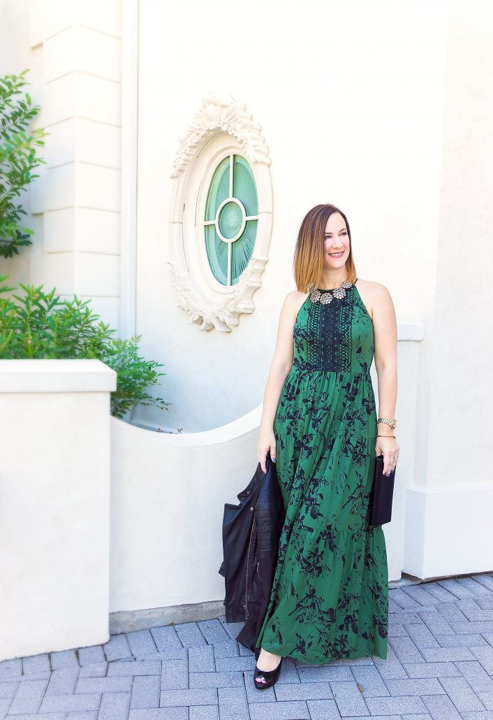 thoughtfully styled is two blog anniversary houston blogger the woodlands blogger style fashion maxi dress party dress
