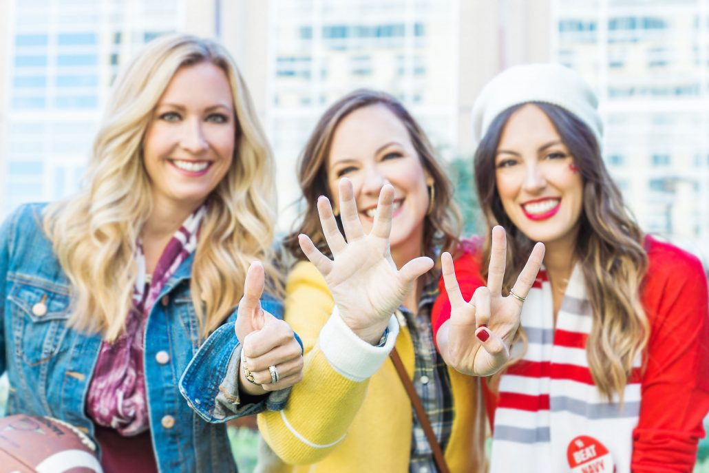 GAME DAY OUTFIT INSPIRATION college football outfit blogger style