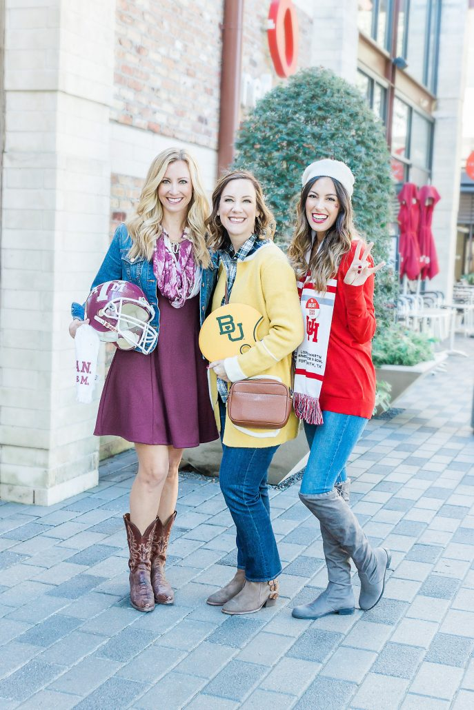 GAME DAY OUTFIT INSPIRATION university of houston football outfit blogger style