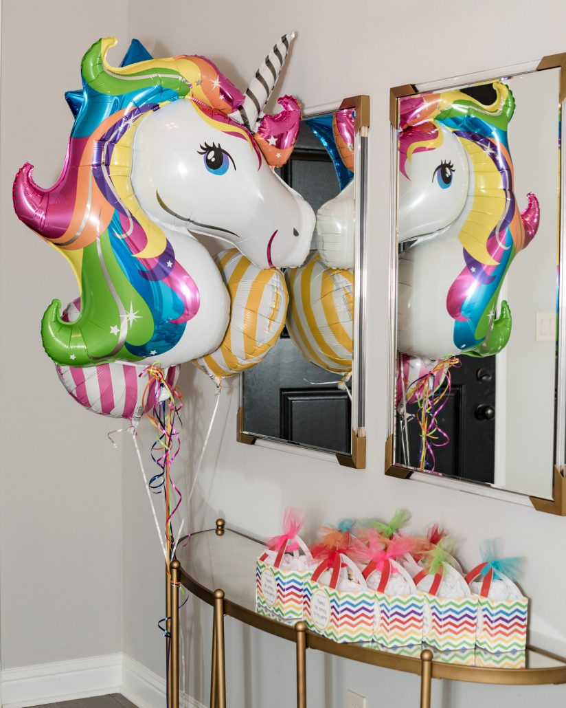Rainbow Unicorn Party Thoughtfully Styled