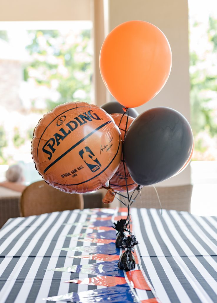 Basketball Pool Party Thoughtfully Styled