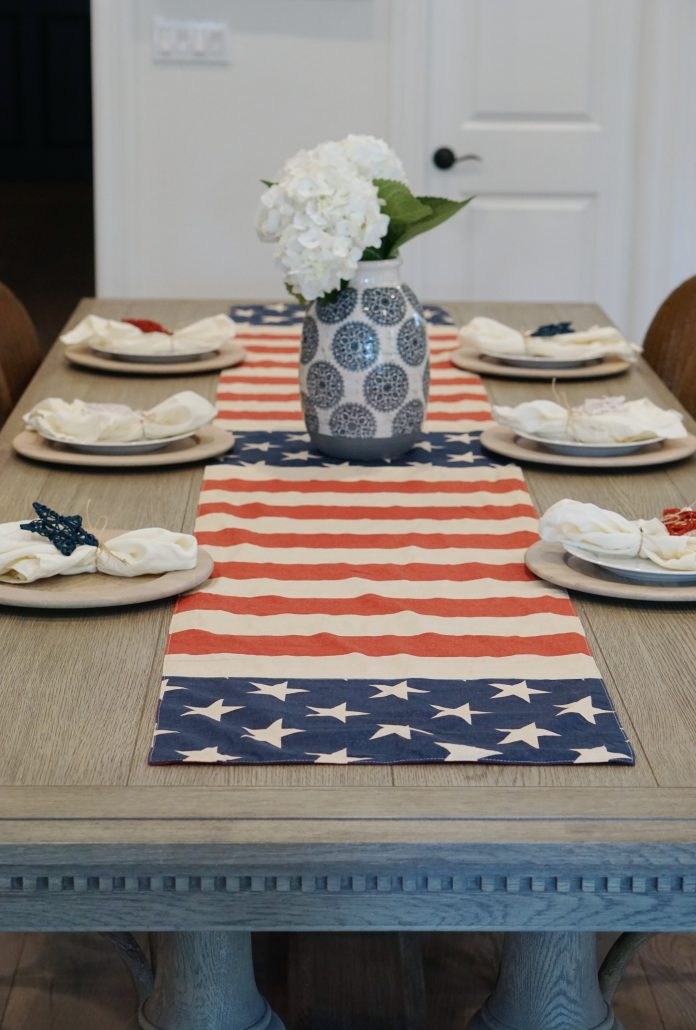 Simple Fourth of July Decor Thoughtfully Styled
