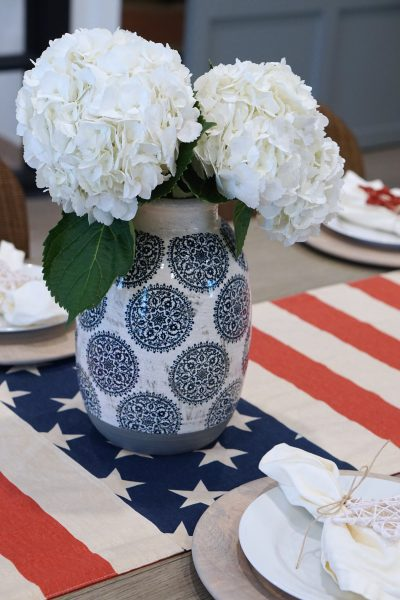 Simple Fourth of July Decor