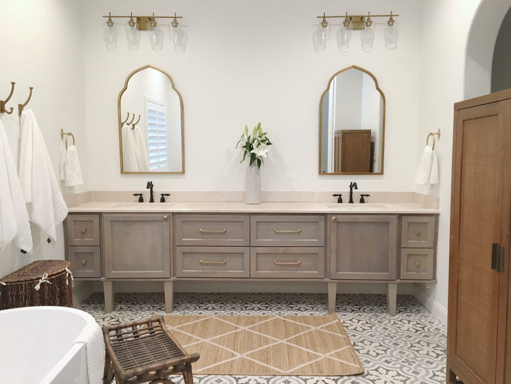 Master Bathroom Renovation Thoughtfully Styled