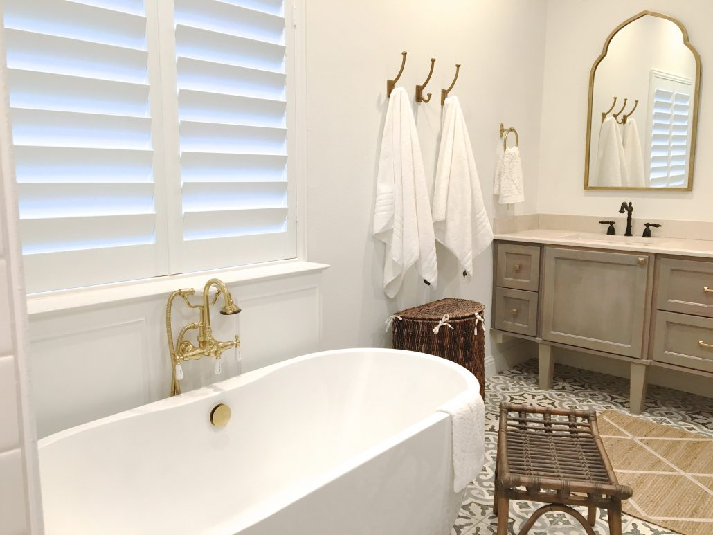 Master Bathroom Renovation Thoughtfully Styled