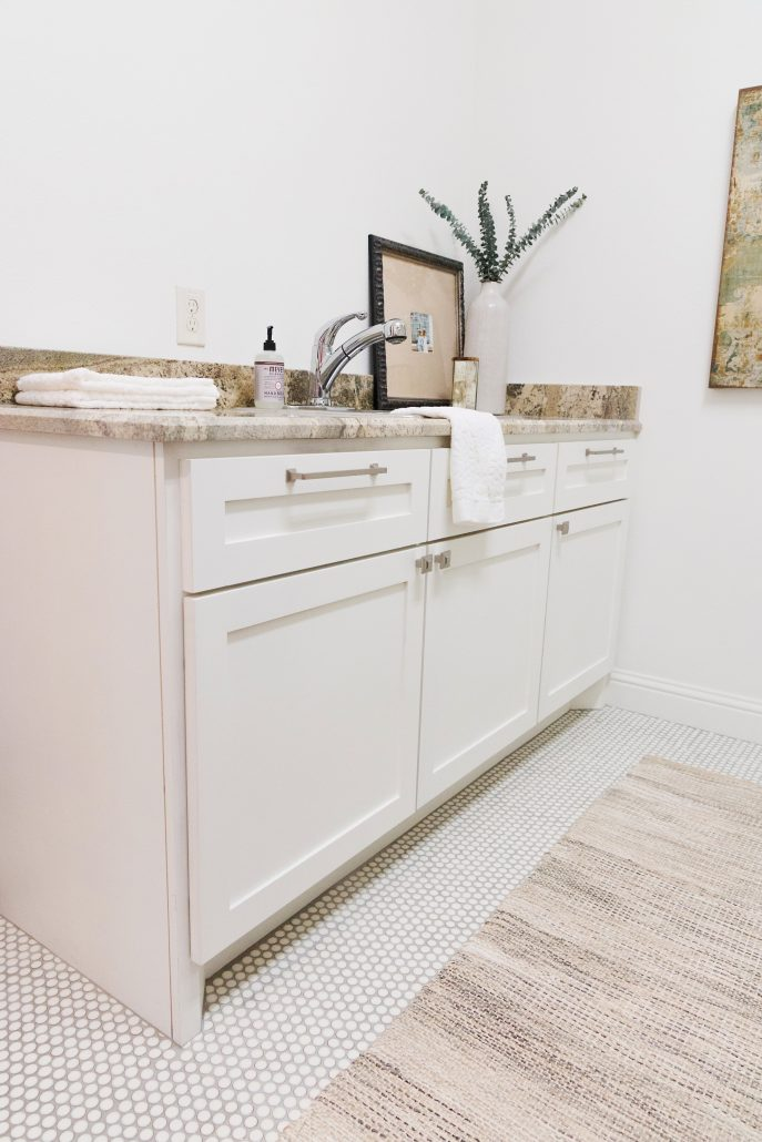 Laundry Room Renovation Thoughtfully Styled