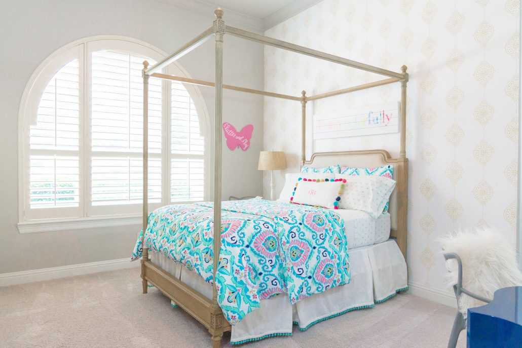 Big Girl Bedroom Reveal - Thoughtfully Styled