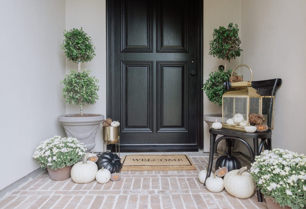 Simple Fall Porch Decor Thoughtfully Styled
