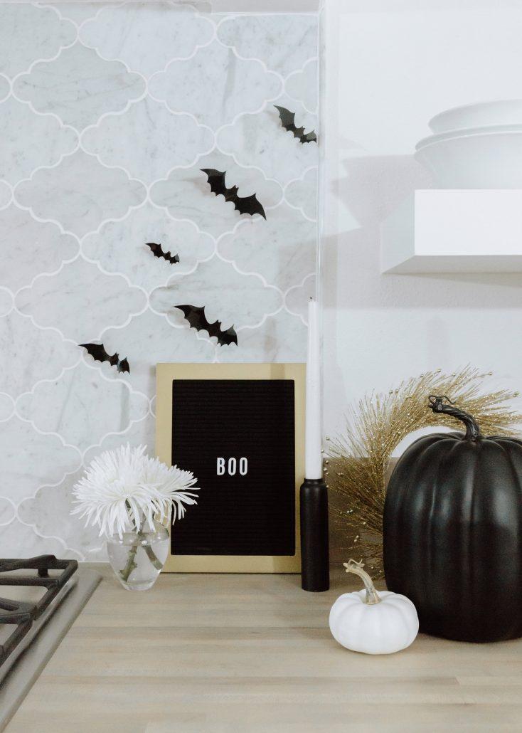 Not So Spooky Halloween Décor Thoughtfully Styled Halloween Décor Fall Décor Neutral Halloween Décor Custom cookies