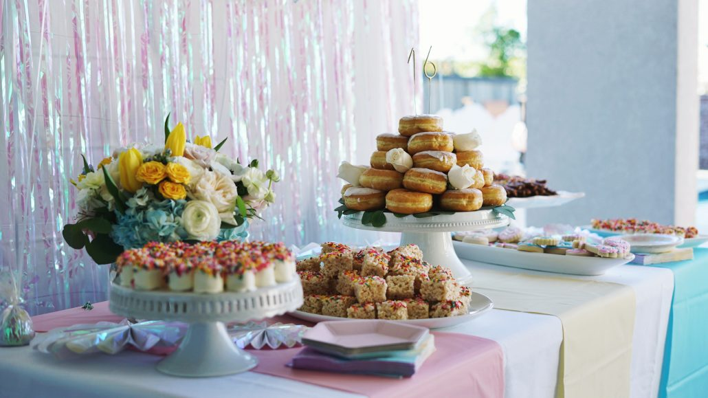 Pastel Sweet Sixteen Birthday Party Decor
