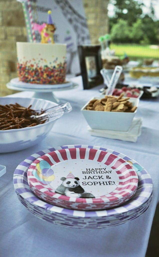Party Animal Theme Personalized party decor